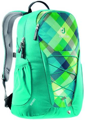 Рюкзак Deuter GO GO 25 л 3820016-3216 сине-зеленая клетка рюкзак deuter 2015 daypacks go go blue arrowcheck 80146 3016 000 00