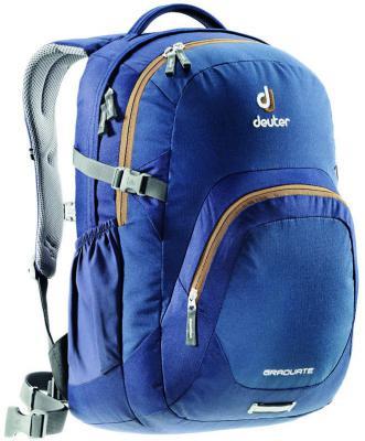 Городской рюкзак с отделением для ноутбука Deuter Graduate 28 л синий 80232-3608 сумка с отделением для ноутбука deuter pannier 14 л бирюзовый черный 85093 7321