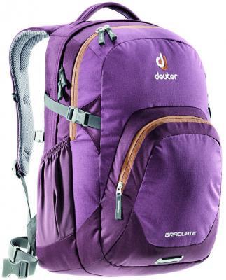 Городской рюкзак с отделением для ноутбука Deuter Graduate 28 л черничный 80232-5607 городской рюкзак deuter futura 20 sl 20 л фиолетовый розовый 34194 3503