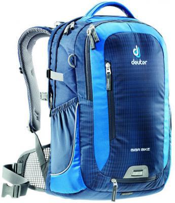 Велорюкзак с отделением для ноутбука Deuter Giga Bike 28 л 80444-3980 сине-голубой