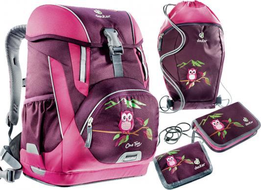 Школьный рюкзак с наполнением Deuter OneTwo 20 л фиолетовый 3830116-5509/SET2 deuter giga blackberry dresscode