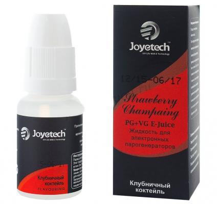 Жидкость для заправки электронных сигарет Joyetech Клубничный коктейль 0 mg 30 мл