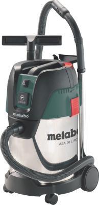 Пылесос Metabo ASA30LPCInox 602015000 штроборез metabo mfe 30 601119000