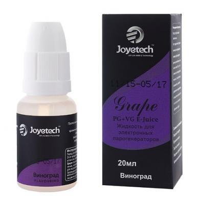 Жидкость для заправки электронных сигарет Joyetech Pam Виноград 4 mg 30 мл