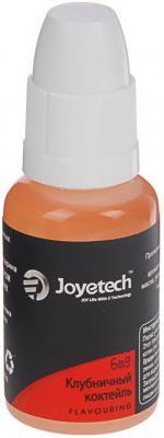 Жидкость для заправки электронных сигарет Joyetech Клубничный коктейль 6 mg 30 мл