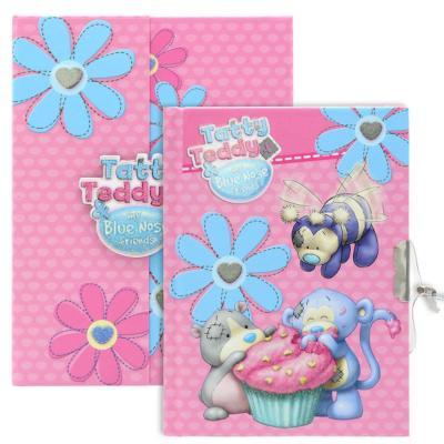 Блокнот с замком ACTION!, Blue Nose Friends, твердая обложка, подарочная упаковка BNF-FN64/4114