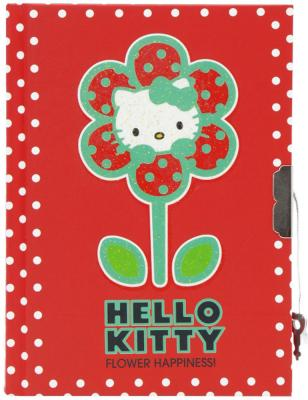 Блокнот с замком ACTION!, Hello Kitty, твердая обложка, пакет HKO-FN64/4118