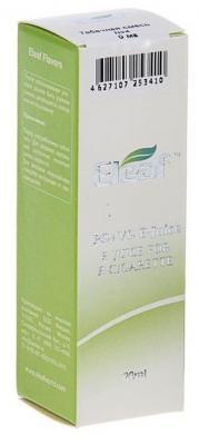 Жидкость для заправки электронных сигарет Eleaf Табачная смесь №4 0 mg 20 мл