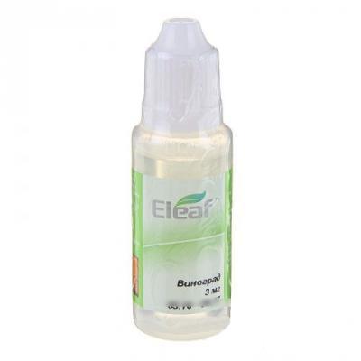 Жидкость для заправки электронных сигарет Eleaf Виноград 3 mg 20 мл