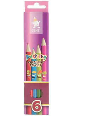 Набор цветных карандашей Koh-i-Noor 2141/6 6 шт набор цветных карандашей koh i noor mondeluz 24 шт 3718024001ksru