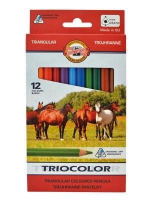 Набор цветных карандашей Koh-i-Noor JUMBO 12 шт каталог lovecoil