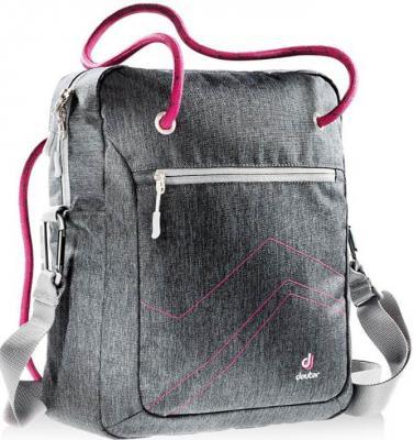 Купить Сумка с отделением для ноутбука Deuter Pannier 14 л серый розовый 85093-7511, розовый, серый, текстиль, Сумки