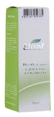 Жидкость для заправки электронных сигарет Eleaf Энергетик 3 mg 20 мл