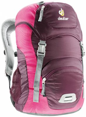 цена на Школьный рюкзак Deuter JUNIOR 18 л бордовый розовый 36029-5509