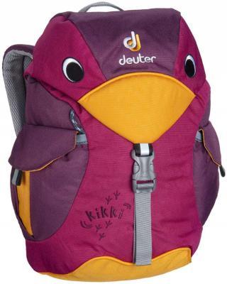 Дошкольный рюкзак ортопедический Deuter KIKKI 6 л фиолетовый 36093-5505 рюкзак детский deuter deuter детский рюкзак kikki magenta blackberry