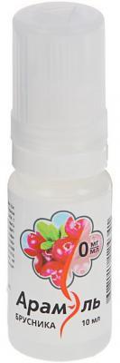 Жидкость для заправки электронных сигарет Арамэль Брусника 0 mg 10 мл