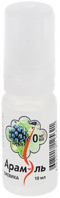 Жидкость для заправки электронных сигарет Арамэль Ежевика 0 mg 10 мл