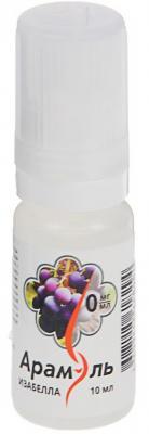 Жидкость для заправки электронных сигарет Арамэль Изабелла 0 mg 10 мл
