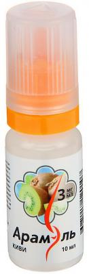 Жидкость для заправки электронных сигарет Арамэль Киви 3 mg 10 мл
