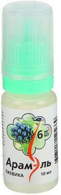 Жидкость для заправки электронных сигарет Арамэль Ежевика 6 mg 10 мл