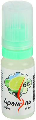 Жидкость для заправки электронных сигарет Арамэль Лайм 6 mg 10 мл