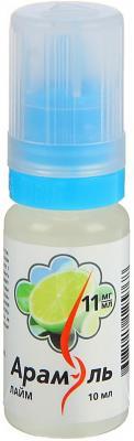 Жидкость для заправки электронных сигарет Арамэль Лайм 11 mg 10 мл