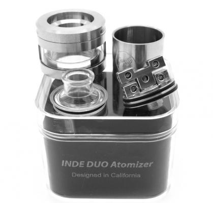 Атомайзер Wismec Inde Duo 2.5 мл черный атомайзер дрип wismec bambino