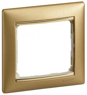 Рамка Legrand Valena 1 пост золотистый 770301