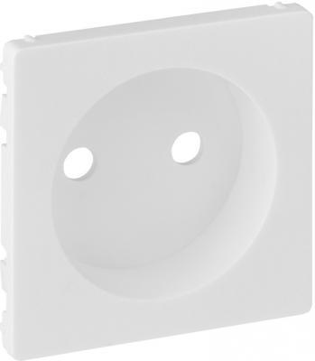 Лицевая панель Legrand Valena Life силовой розетки 2К белый 754970 лицевая панель legrand valena life розетки tv белая 754760