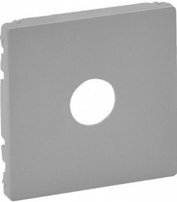 Лицевая панель Legrand Valena Life для розеток ТВ алюминий 754762