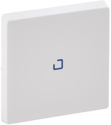 Лицевая панель Legrand Valena Life для выключателя одноклавишного с подсветкой/индикацией белый 755100