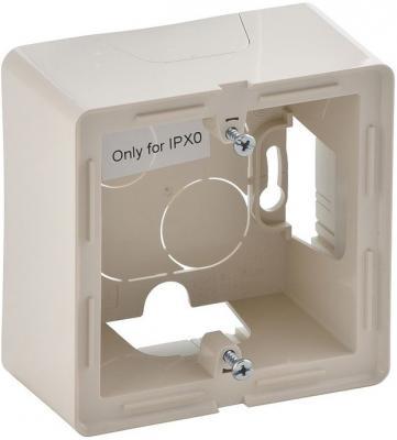 Коробка Legrand Valena Life для накладного монтажа 1-постовая слоновая кость 754201 рамка 4 постовая legrand valena life алюминий 754134