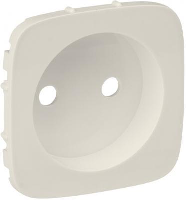 Лицевая панель Legrand Valena Allure силовой розетки 2К слоновая кость 754976 лицевая панель legrand celiane для розетки 2к 3 нем ст с защитной крышкой ip44 слоновая кость 67827