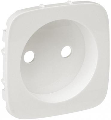 Лицевая панель Legrand Valena Allure силовой розетки 2К жемчуг 754979 розетки и выключатели legrand valena купить дешево