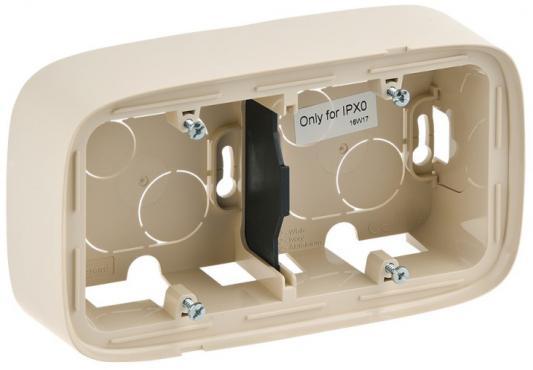 Коробка Legrand Valena Allure для накладного монтажа 2-постовая слоновая кость 755562