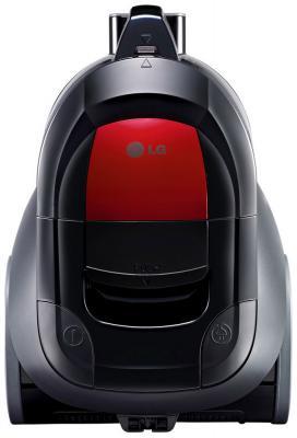 Пылесос LG LG V-K69661N сухая уборка чёрный красный