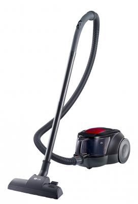 Пылесос LG V-K69601N сухая уборка чёрный красный