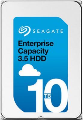 Жесткий диск 3.5 10Tb 7200rpm 256Mb cache Seagate Skyhawk SATAIII ST10000VX0004 жесткий диск sata 10tb 6gb s 256mb red wd100efax wdc