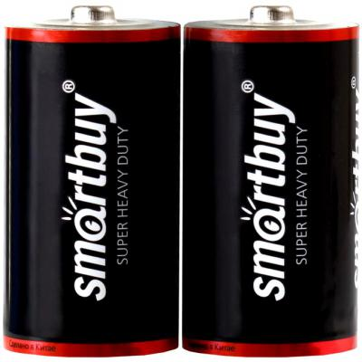 Батарейки Smartbuy R14/2S C 2 шт SBBZ-C02S