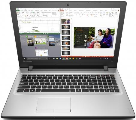 "Ноутбук Lenovo IdeaPad 300-15ISK 15.6"" 1366x768 Intel Core i3-6100U 80Q701JERK от 123.ru"