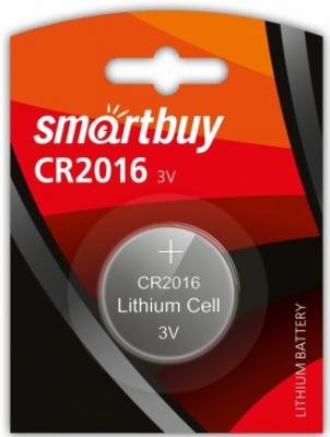 Батарейка Smartbuy SBBL-2016-1B CR2016 1 шт