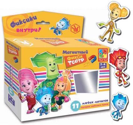 """Магнитный театр Vladi toys """"Фиксики"""" 11 предметов VT3206-19"""