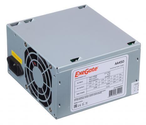 БП ATX 450 Вт Exegate AA450 бп atx 600 вт exegate atx 600npx