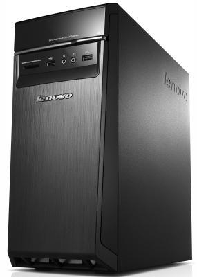 Системный блок Lenovo 300-20ISH i3-6100 3.7GHz 4Gb 500Gb DVD-RW DOS клавиатура мышь черный 90DA00FKRK