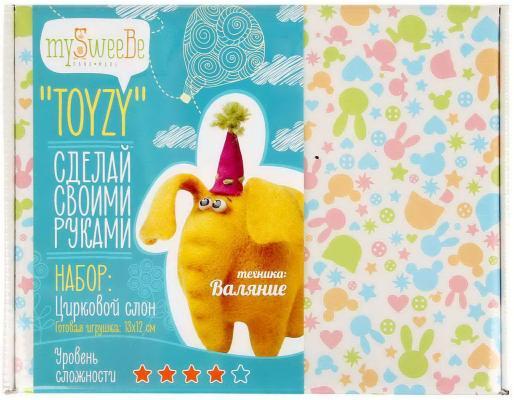 Набор для валяния Toyzy Слон от 14 лет TZ-F003