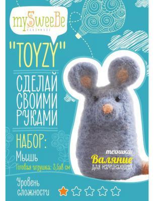 Набор для валяния Toyzy Мышь от 14 лет TZ-F007