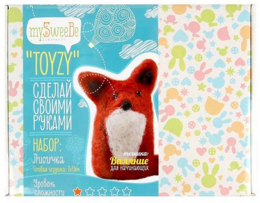 Набор для валяния Toyzy Лисичка от 14 лет TZ-F009