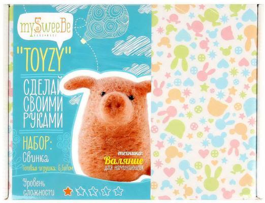 Набор для валяния Toyzy Свинка от 14 лет TZ-F012