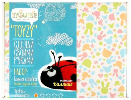Набор для валяния Toyzy Божья коровка от 14 лет TZ-F001