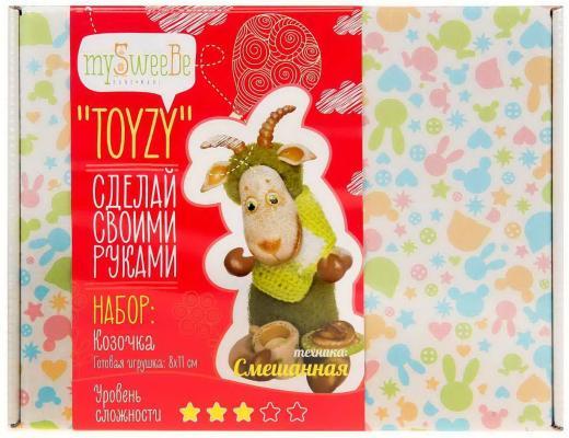 Набор для вязания и валяния Toyzy Козочка от 14 лет TZ-M001